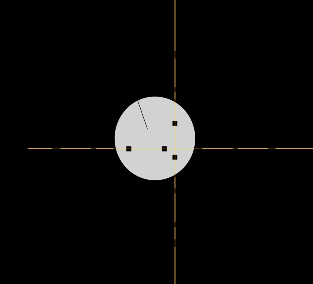 Diagramm des Brutnests und der Sensorposition