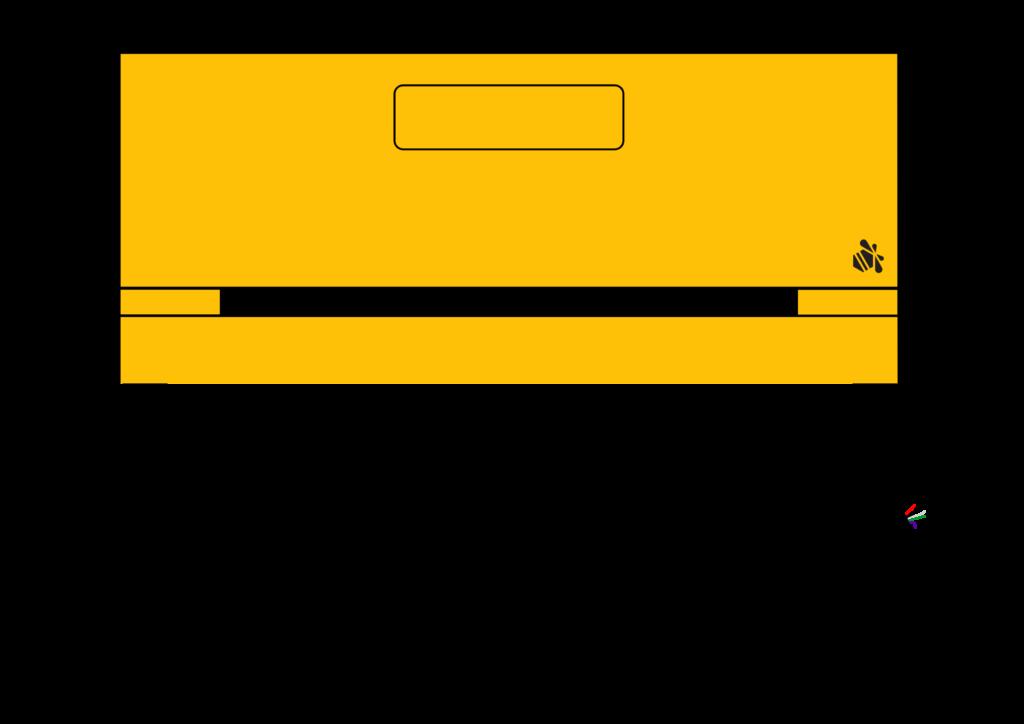2D Ansicht der Waage mit Beute darauf